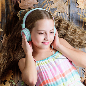 kids headphones with mic