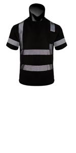 black safety shirt