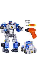 take apart robot