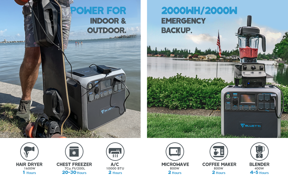 2000Wh 2000W Power for Indoor and Outdoor 970x600