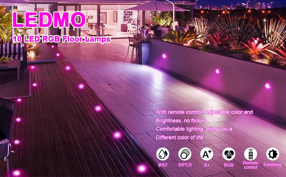 RGB LED Spots Encastrables