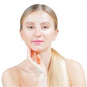 roller face massager