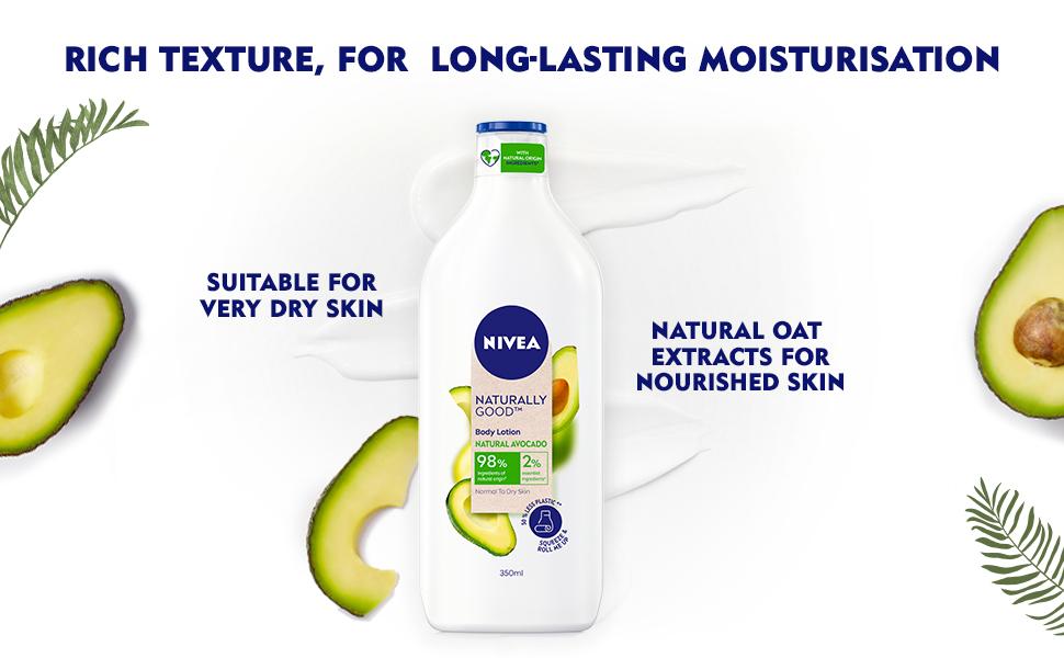 NIVEA,Women,Natural Ingredients,Body lotion,Moisturization,Nourishment,Body Wash