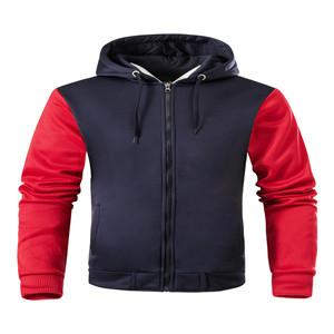 Mens Fashion Full Zip Hoodie