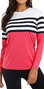 spf shirts for women long sleeve