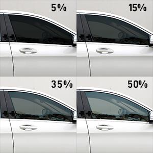 motoshield pro carbon window tint 5 15 35 50 15% 35% 5% 50%