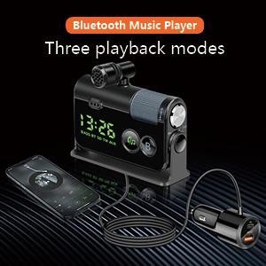 car bluetooth music player