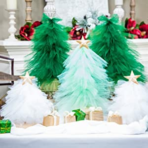 Christmas TULLE DECORATION