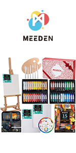 MEEDEN 71-Piece Acrylic Painting set