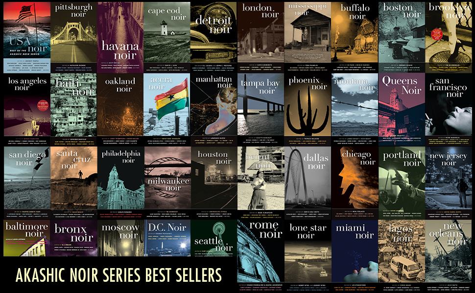 akashic noir series top sellers