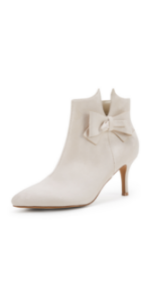 Womens Beige Ankle Boots