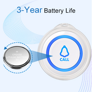 3-Year Battery Life