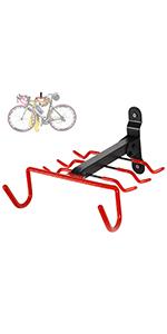 Foldable Bike Storage Rack (1 Set)