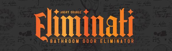 Eliminati Bathroom Spray Angry Orange
