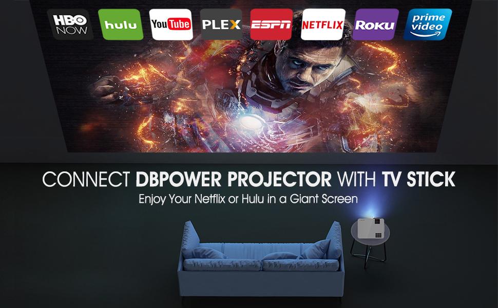 1080P WIFI BLUETOOTH PROJECTOR