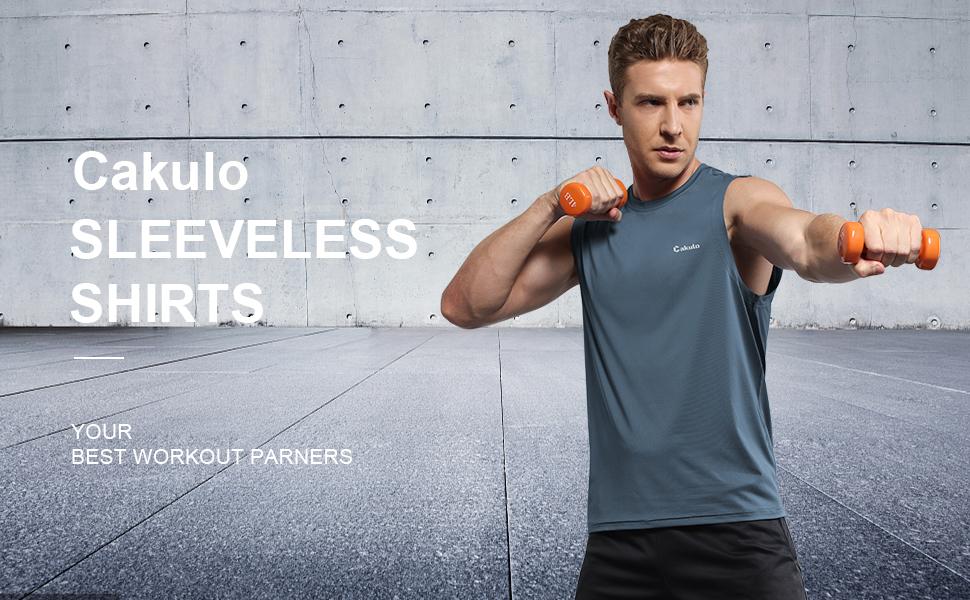 Cakulo sleeveless shirts your best workout partner