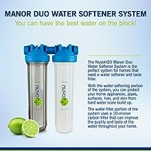 water carbon taste filter water softener conditioner