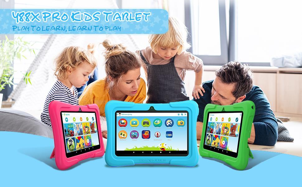 Y88X Pro 7 inch Kids Tablets