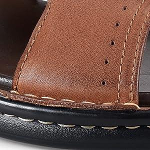 Handsewn Design Slippers for men