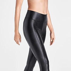 wolford,leggings,vegan leather,legwear,bottomwear