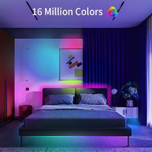 16 million colors