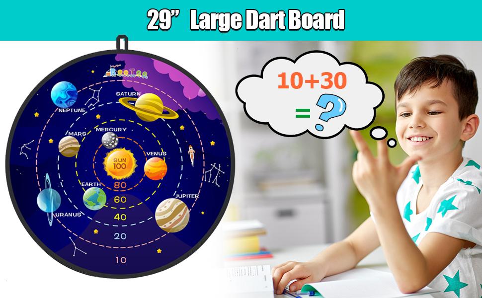 Large Size Dart Board Set