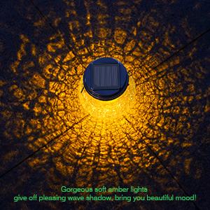 solar light pattern