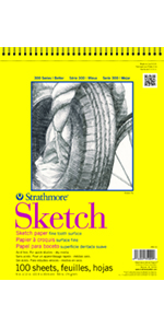 Strathmore, Sketch, Artist Paper