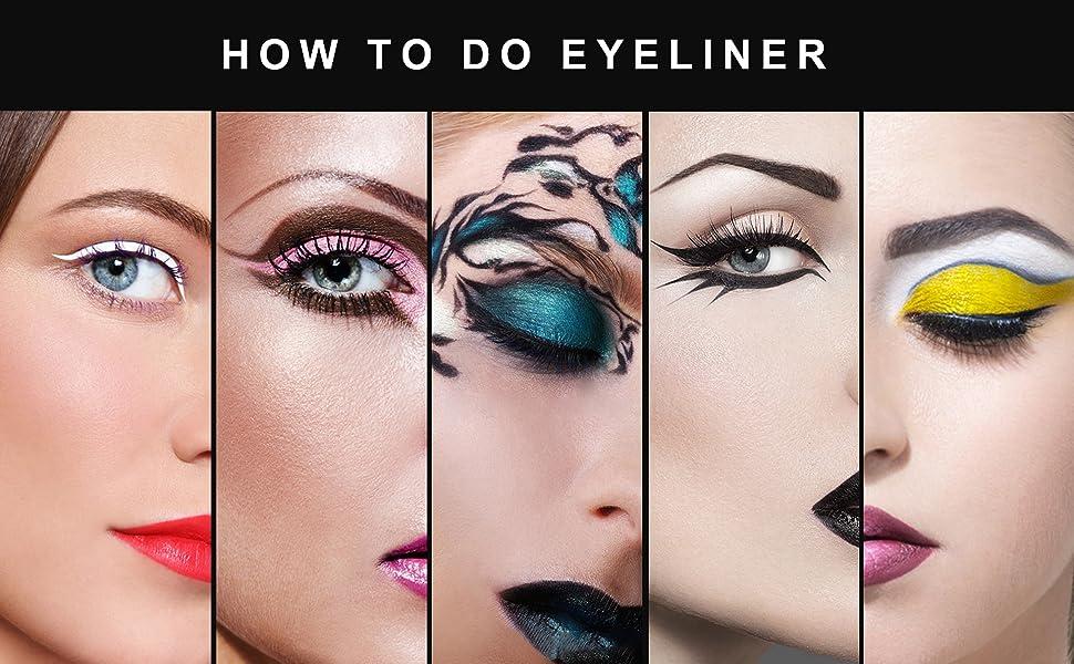 eyeliner brush  set