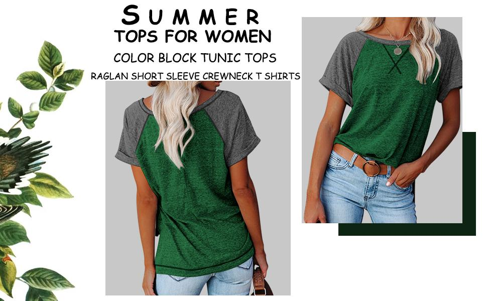 womens tops and blouses green shirt for women short sleeve shirts for women women shirt