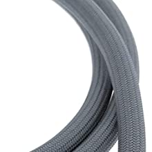Nylon pull-down hose for kitchen faucet
