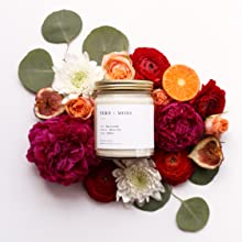Natural Cotton Wick,Cotton Wick Candles,Brooklyn Candle,Santorini,Hand Poured