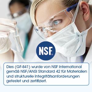 NSF certigication