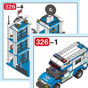 lego city police cop car police station toy building sets truck car vehicle kit for boys girls