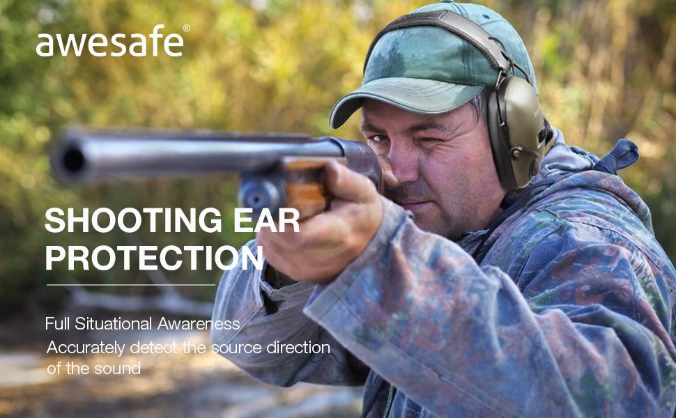 Shooting earmuffs