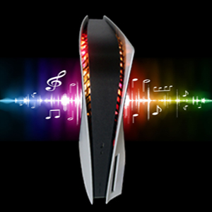 PS5 led light RGB light strip with music sync function