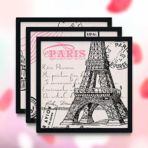 Paris Decor For Bedroom Wall Black Themed Eiffel Tower Bathroom Room Girls Art French Decorations