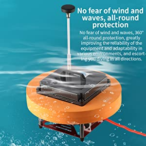 No fear of wind and waves, all-round protection