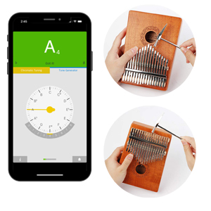 how to tune your kalimba piano