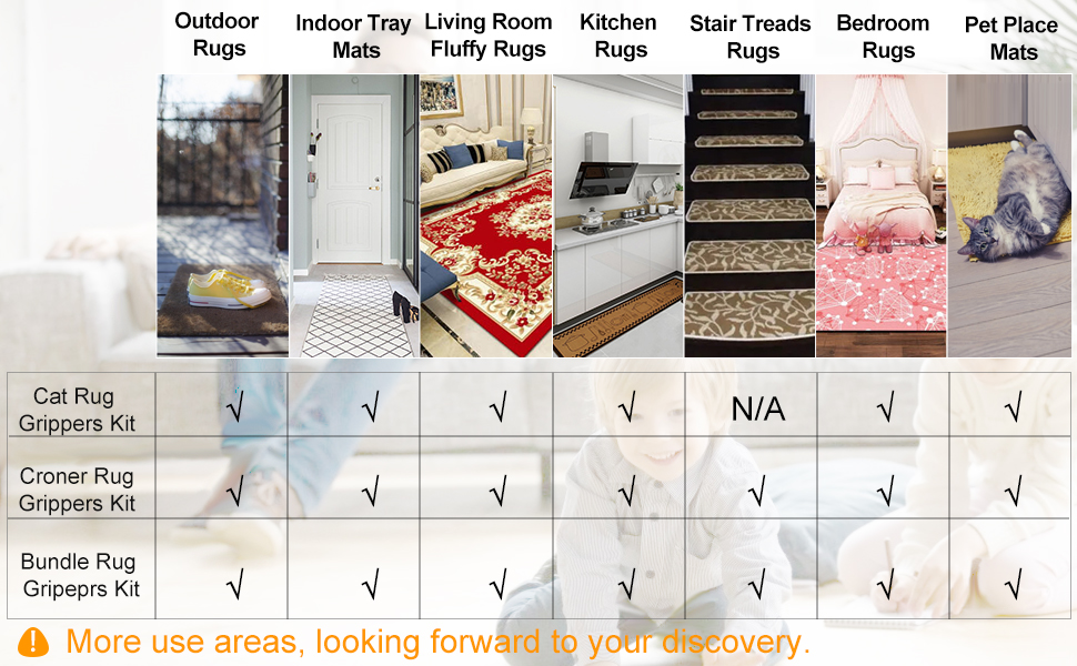 non skid rug pad rug stickers for wood floor