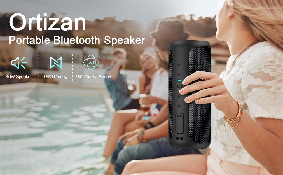 ortizan bluetooth speaker