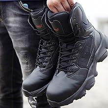 Menamp;#39;s Steel Toe Work Boot