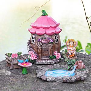 fairy garden house kit