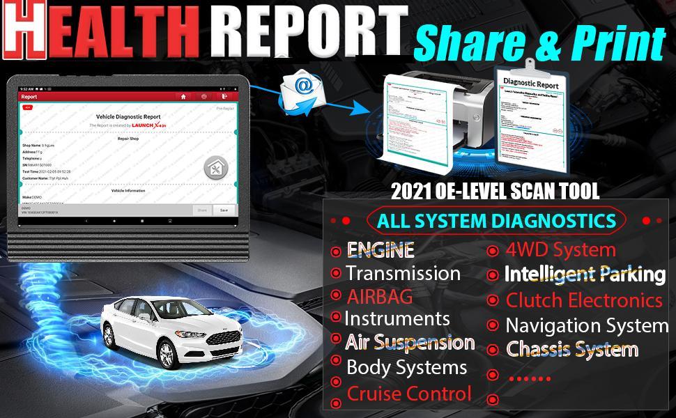 LAUNCH X431 V PRO 4.0 Bi-Directional Scan Tool Full System Scanner