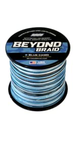 Blue Camo Beyond Braid