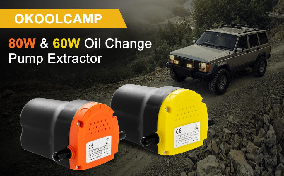 Extractor de bomba de cambio de aceite-60W y 80W