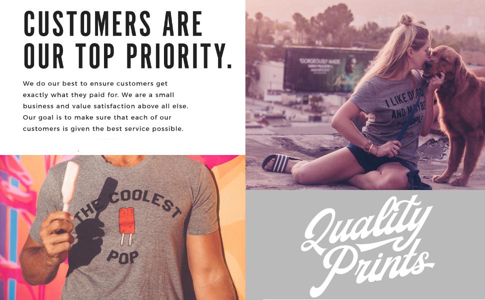Customers top priority