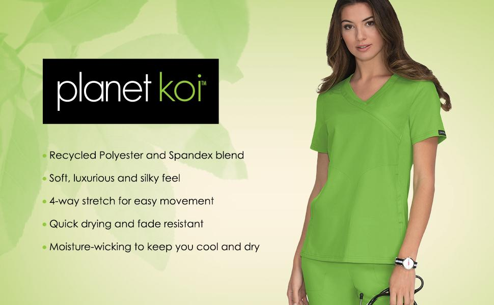 planet koi Scrubs Medical Healthcare Uniforms Fashion