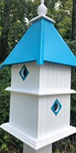 4 Compartments birdhouse
