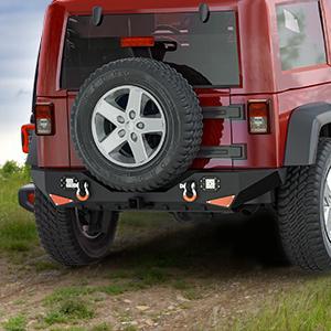 rear bumper for jeep wrangler